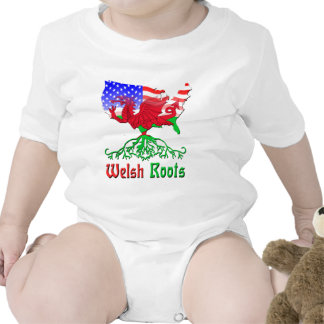 American Welsh Roots T Shirts
