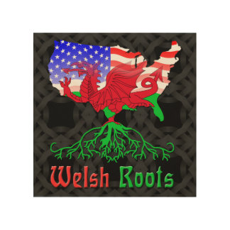 American Welsh Roots Wood Wall Decor