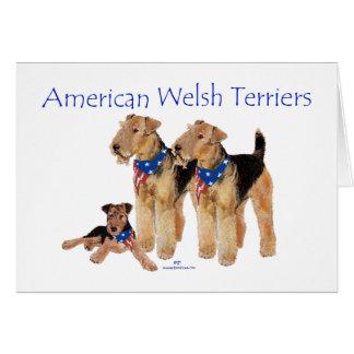American Welsh Terriers Card
