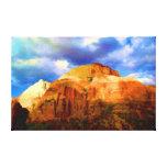 American West Citadel Canvas Print