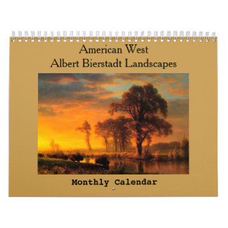American West Landscape Calendar