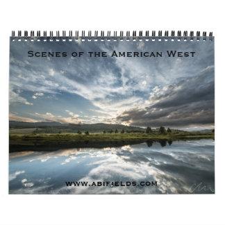 American West Photo Calendar