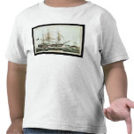American Whaler, engraved by Nathaniel Currier Tee Shirts
