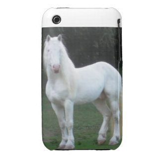 American White Draft Stallion iPhone Cover iPhone 3 Cover
