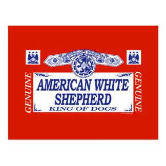 American White Shepherd Postcard