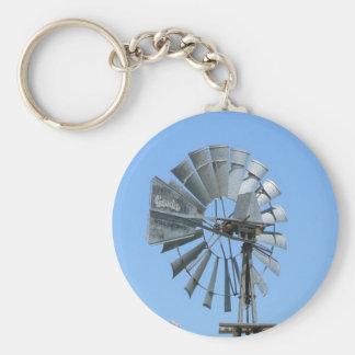 American Windmill 2 Keychain