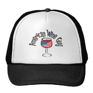 American Wine Guy1a Mesh Hats