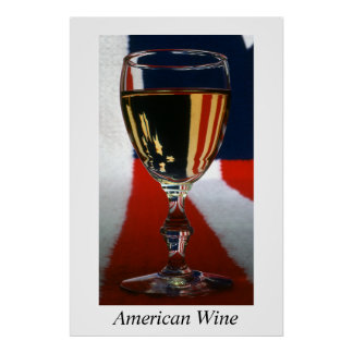 American Wine-Poster Poster