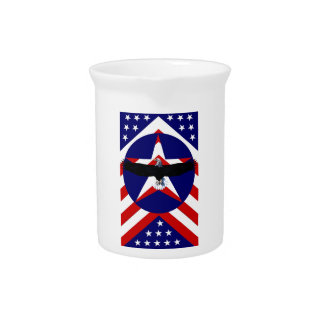 American, wings beverage pitcher