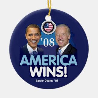 AMERICAN WINS Ornament
