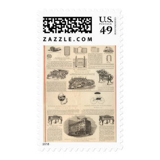 American Wire Works Postage Stamp