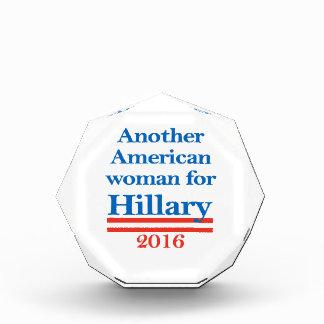 American Woman for Hillary Clinton Award