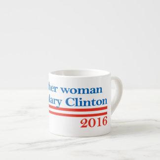 American Woman for Hillary Clinton Espresso Cup