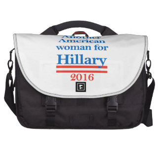 American Woman for Hillary Clinton Laptop Bags
