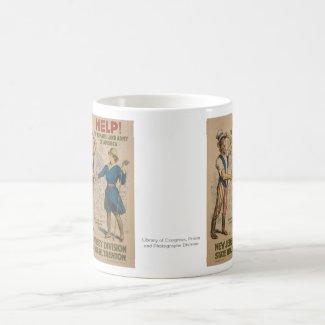 American Women's Army World War I Coffee Mug