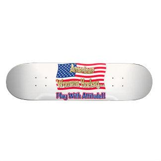 American Womens Hockey Skateboard