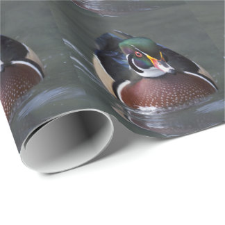 American Wood Duck Wrapping Paper