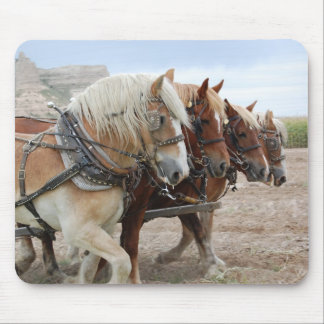 American Work Horse Mouse Mats