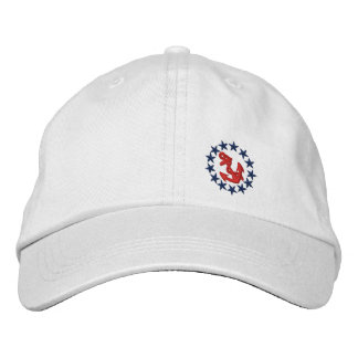 American Yacht Flag Ensign Nautical Embroidery Cap