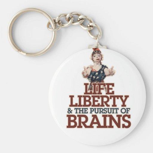 American Zombie Key Chain