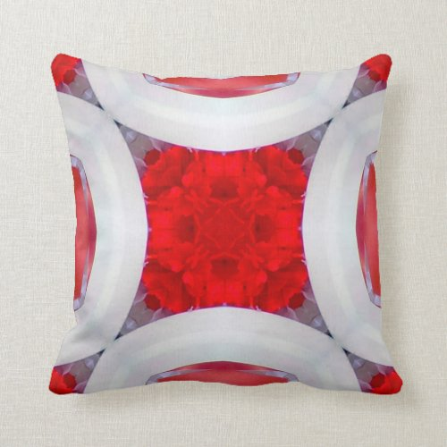 Americana 19 throw pillow