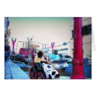 """Americana 1 """"Same Old Town"""" Greeting Cards"""