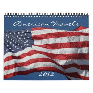 americana 2012 calendar