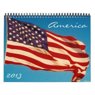 americana 2013 calendar