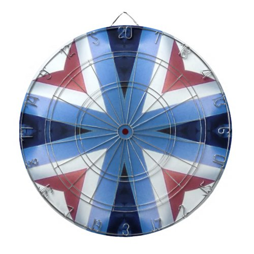 Americana 21 dartboard with darts