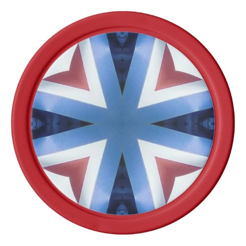 Americana 21 poker chips set