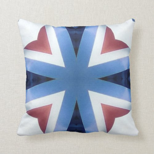 Americana 21 throw pillow