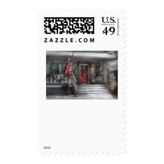 Americana - A Tribute to Rockwell Postage Stamps