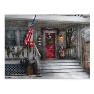 Americana - A Tribute to Rockwell Postcard
