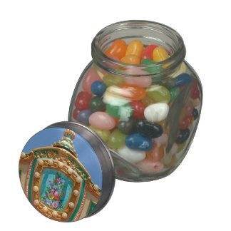 Americana - Amusement decor Glass Candy Jar