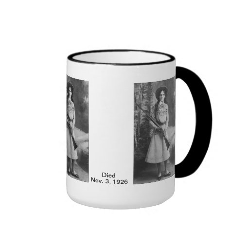 Americana:  Annie Oakley Ringer Mug