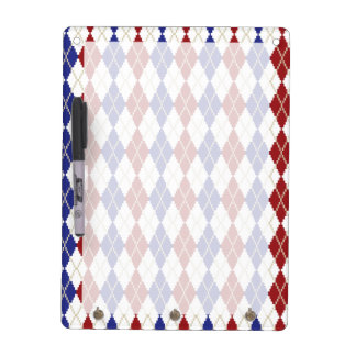 Americana Argyle Dry Erase Board
