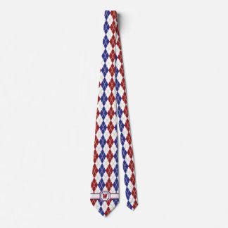 Americana Argyle Men's Neck Tie