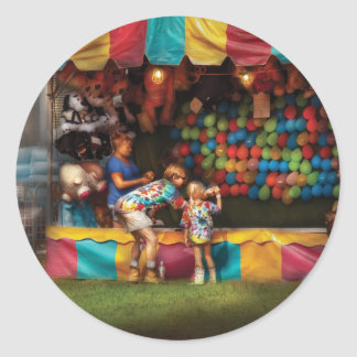 Americana - At the country fair Classic Round Sticker