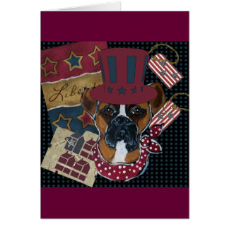 AMERICANA BOXER CARD