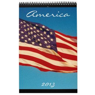 americana calendar 2013