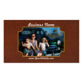 Americana - Car - The classic American vacation Business Card