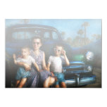 Americana - Car - The classic American vacation Card