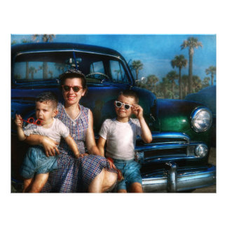Americana - Car - The classic American vacation Flyer