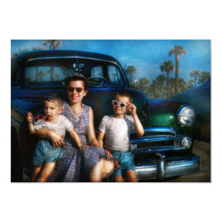 Americana - Car - The classic American vacation Announcement