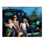 Americana - Car - The classic American vacation Postcard