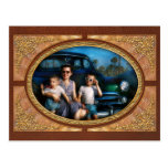 Americana - Car - The classic American vacation Post Cards