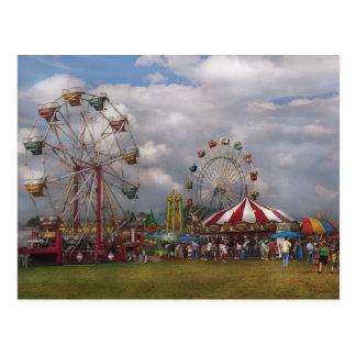 Americana - carnaval que viaja tarjeta postal