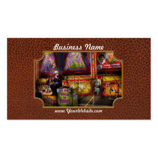 Americana - Carnival - Strange Oddities Double-Sided Standard Business Cards (Pack Of 100)