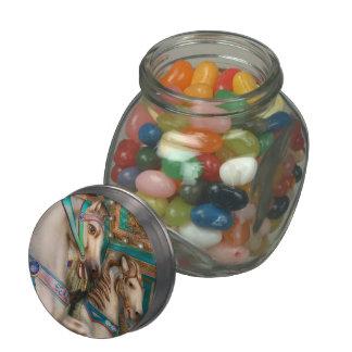 Americana - Carousel beauties Glass Jars