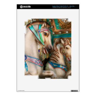 Americana - Carousel beauties iPad 3 Skin